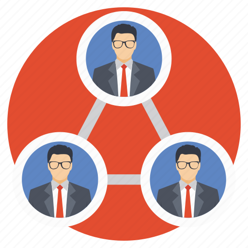 department, group, leader, staff, team icon