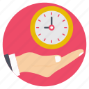 effective planning, time analysis, time control, time management, time optimization icon