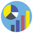 account, statistics, data, algorithm, economics icon