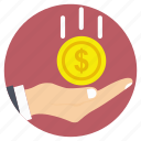 assets, capital, cash, funds, savings icon