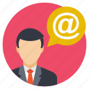 business communication, business correspondence, business email sender, email forwarder, email sender icon