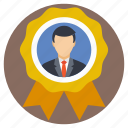 job promotions, best seller badge, business achievement, employee of the month, businessman of the year, employee award icon