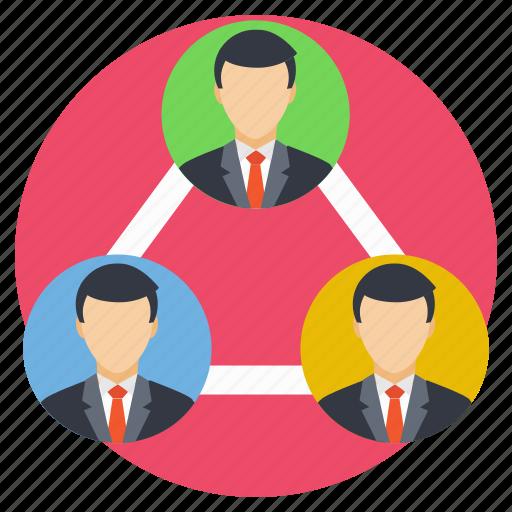 association, company, group, organization, team icon