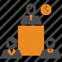 money, team, teamwork, users