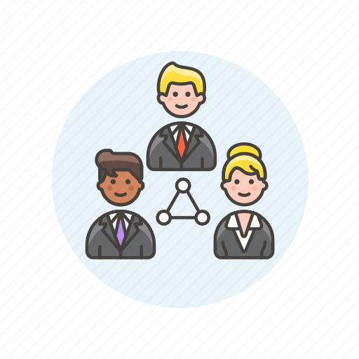 business, cooperate, group, people, relationship, team, work icon