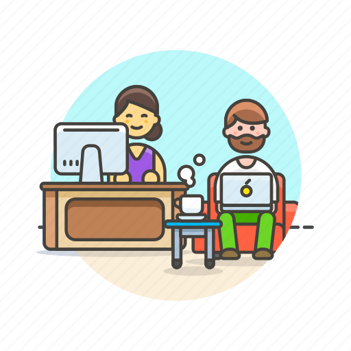 apple, business, group, office, people, team, together, work icon