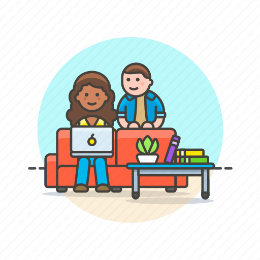 business, environment, group, home, people, relax, team, work icon
