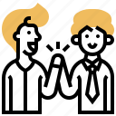 alliance, connection, coworker, partnership, support icon