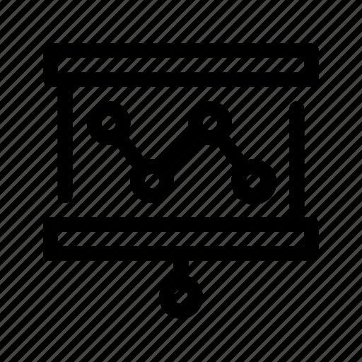 analysis, organization icon, presentation icon