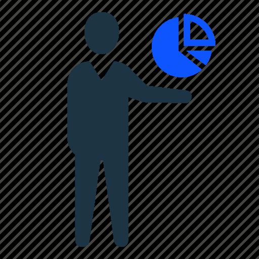 business, chart, mananalytics, pie, report icon