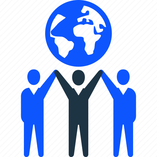 business, global, man, success, team, teamwork icon