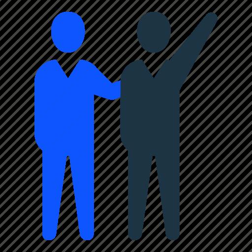 businessman, employee, leaderbusiness, manager, performance, winner icon