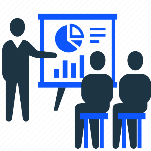 business, business people, conference, meeting, presentation, report icon