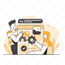 seo, optimization, analytics, marketing, statistics, search, magnifier