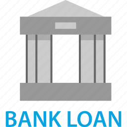 bank, business, loan, startup icon