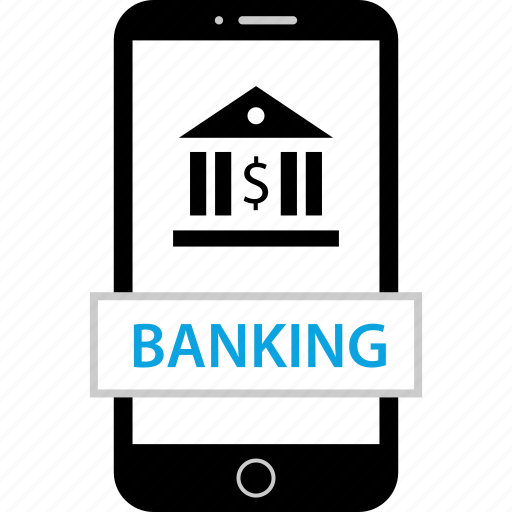 banking, device, mobile, transfer icon