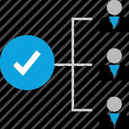 checkmark, ok, safe, team icon