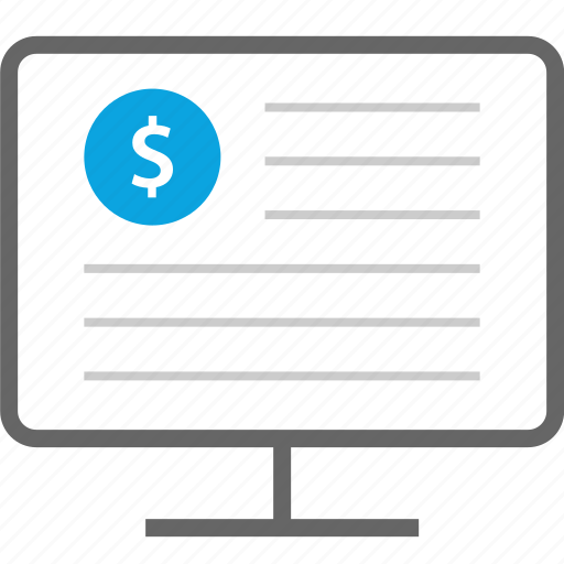 dollar, edit, sign, write icon