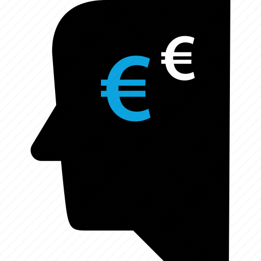 euro, graphic, team, think icon