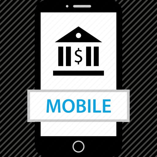 device, mobile, money, web icon