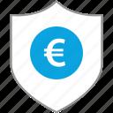 euro, security, uk, web icon