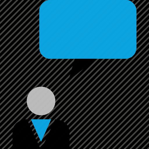 finance, startup, talking, web icon