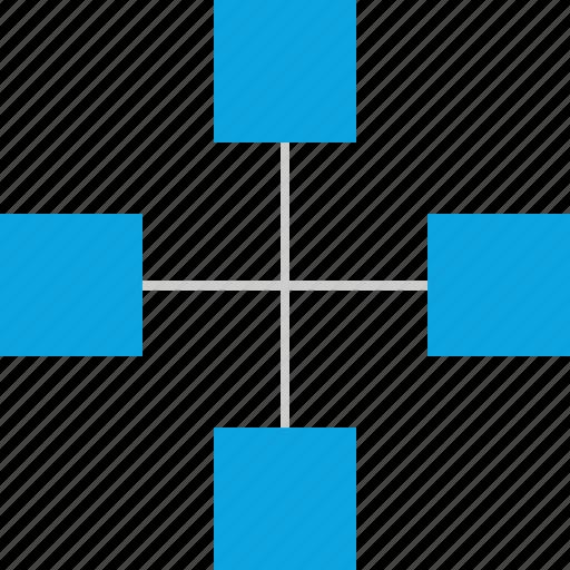 connection, team, teams, work icon