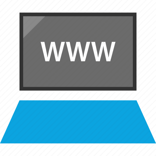 laptop, seo, web, www icon