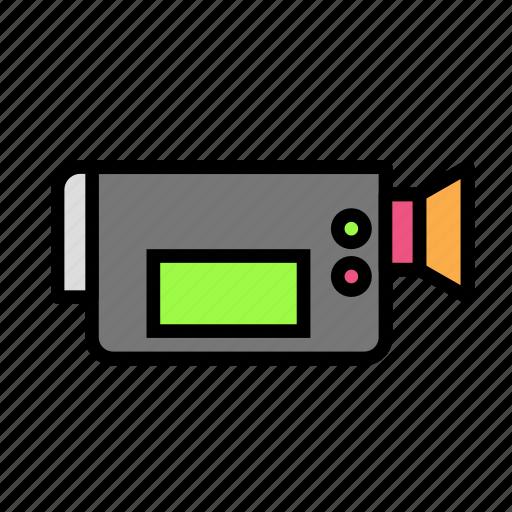 camera, device, tech, technology icon