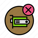 cancel, component, device, tech, technology icon