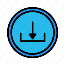 circle, device, download, tech, technology