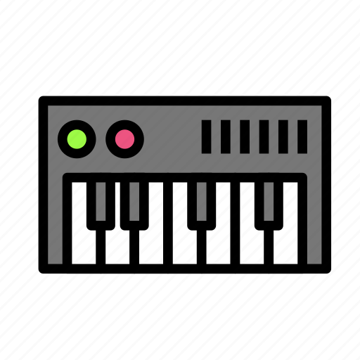 device, keyboard, pian, tech, technology icon