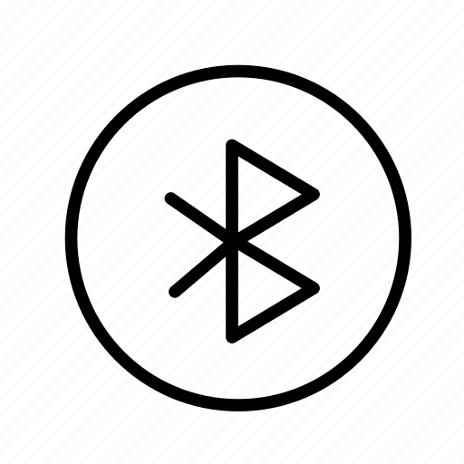 bluetooth, circle, device, tech, technology icon