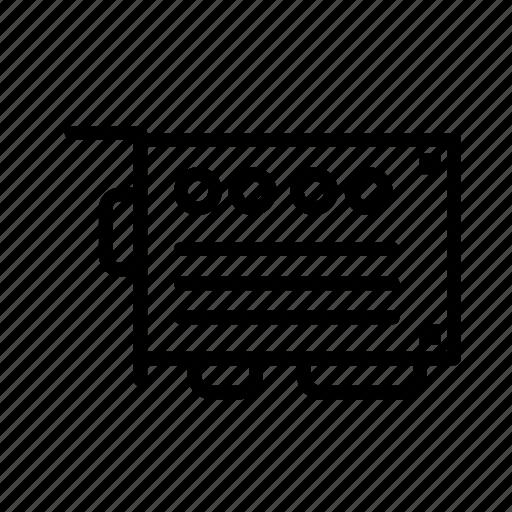 board, device, tech, technology icon