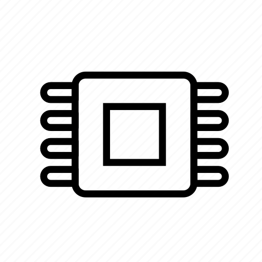 cpu, device, tech, technology icon