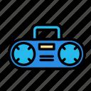 device, radio, tech, technology icon