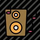 device, music, speaker, tech, technology icon