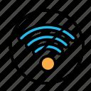 device, no, tech, technology, wifi icon
