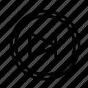circle, device, next, tech, technology icon