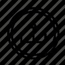 circle, device, tech, technology, upload icon