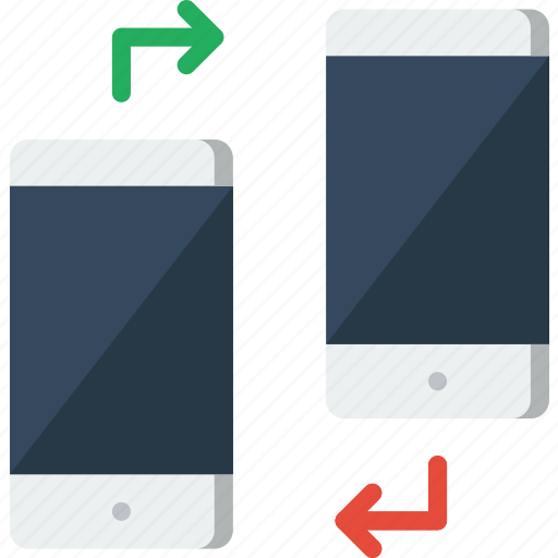 device, gadget, phone, technology, transfer icon