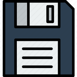 device, diskette, gadget, technology icon