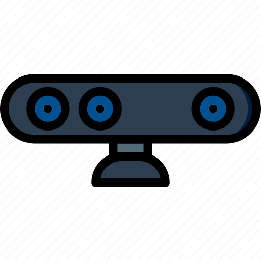 device, gadget, technology, webcam icon