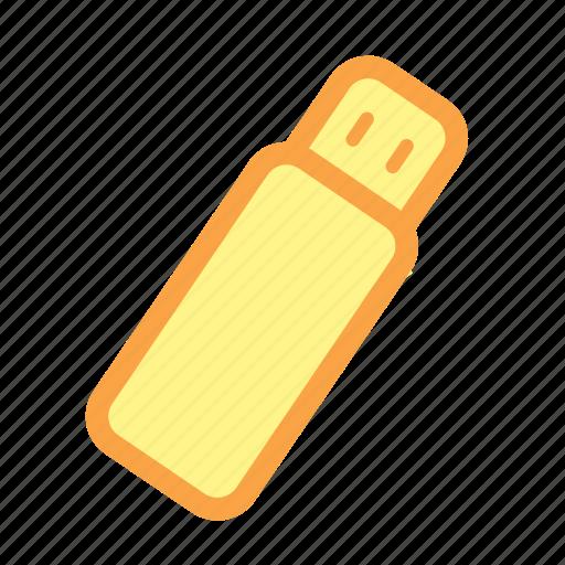 data, external storage, flash disk, flash drive, storage icon