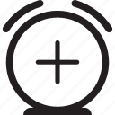 add, alarm, clock, event, time icon