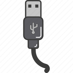 cool, cute, great, hipster, simply, usb, usbflat icon