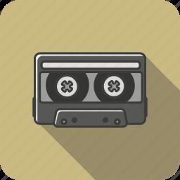 cassete, casseteflaticon, cool, cute, great, retro, simply icon