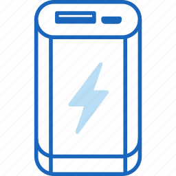 battery, charge, charger, charging, energy, external, power icon