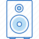 audio, listen, music, song, sound, speaker, volume icon
