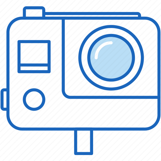 camera, gopro, photo, photography, sport, sports, video icon